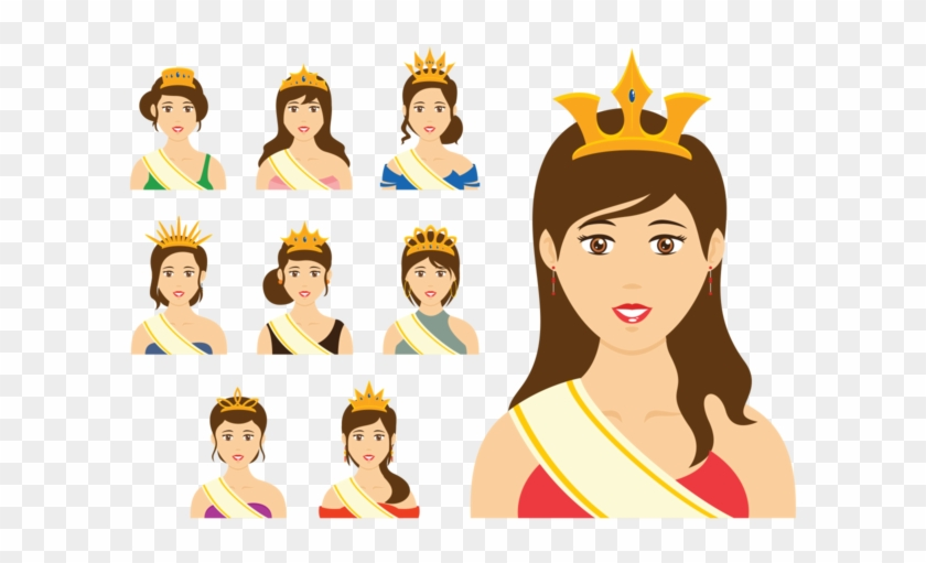 Pageant Queen Vector Beauty Pageant Free Transparent Png Clipart