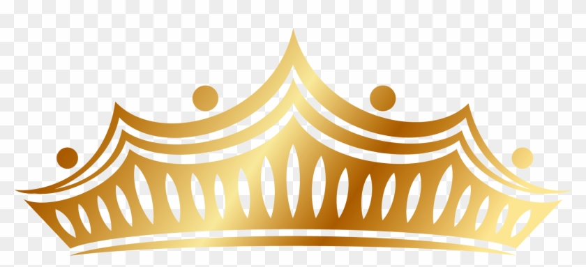 Clash Royale Icon - Golden Crown Vector Png #266571