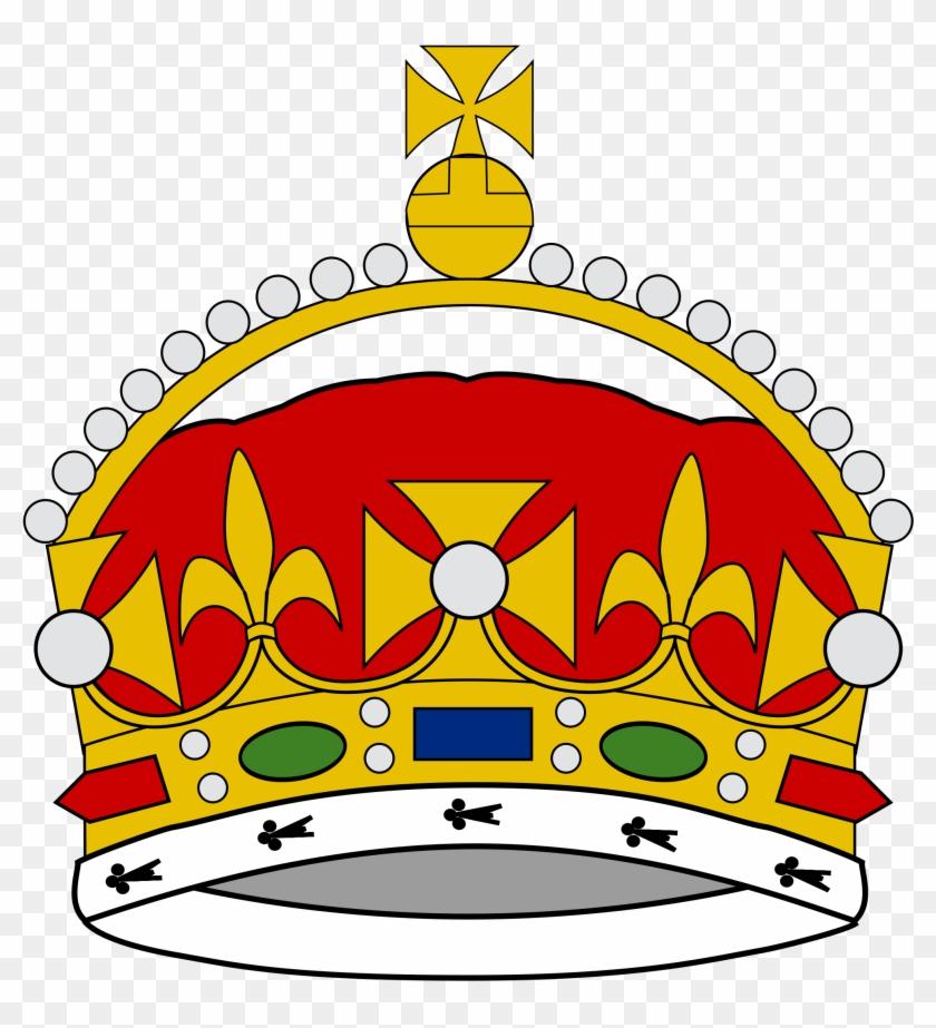 Crown Of George, Prince Of Wales - King George Iii Crown Drawing #266649
