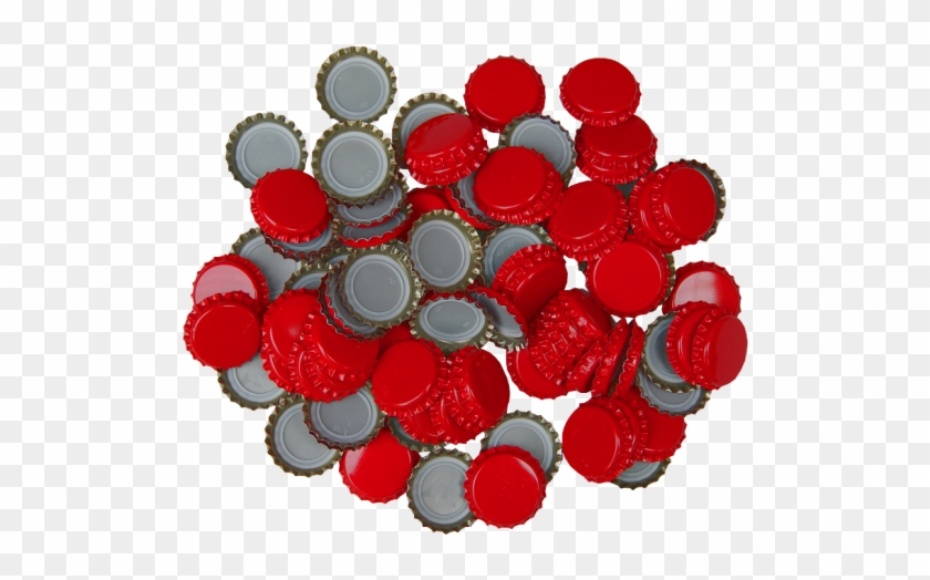250 Crown Bottle Caps - 100 X Crown Caps - Red - Home Brew