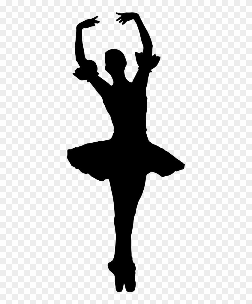 Clip Art Details - Ballerina Silhouette Png #266723