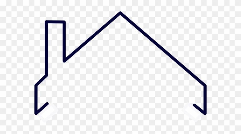 Attic Drawing Sloping Roof House - House, HD Png Download , Transparent Png  Image - PNGitem