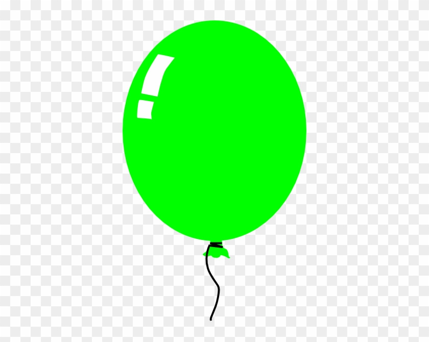 Green Balloons Clipart Balloon Clip Art At Clker Com - Green Balloon Clipart #267016