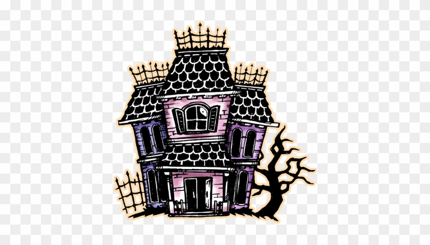 Drawlloween 2014, Day 6- Haunted House By Darksilvania - Haunted House Drawlloween #267299