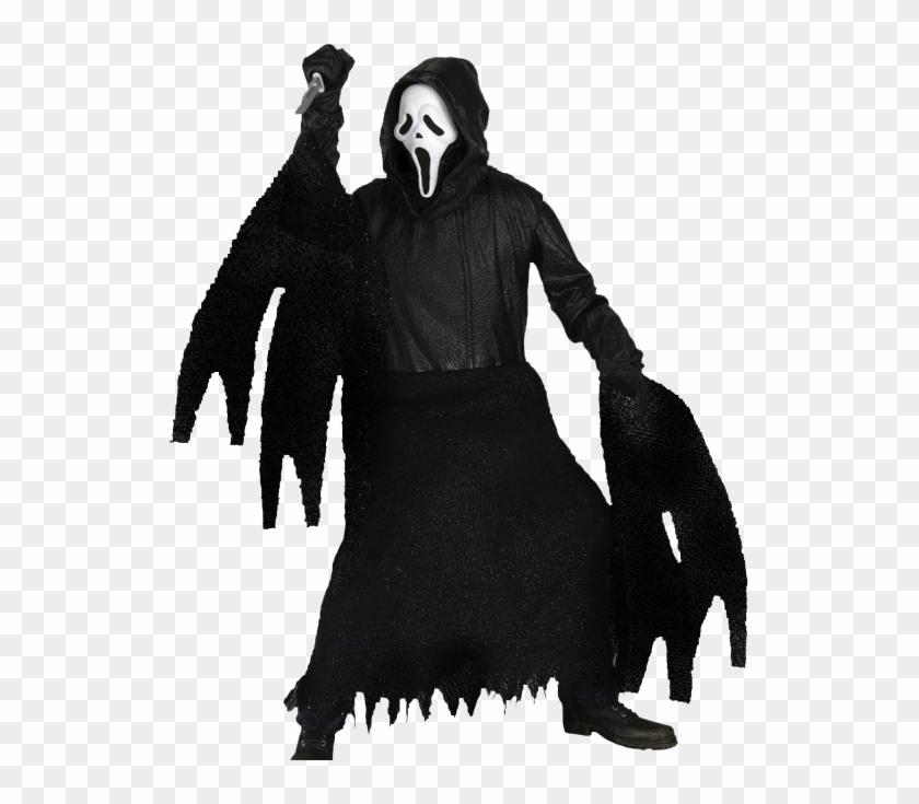 Pumpkin Clip Art At Clkercom Vector Online Royalty - Neca Scream 4 Ghost Face Figure Classic Mask #267329