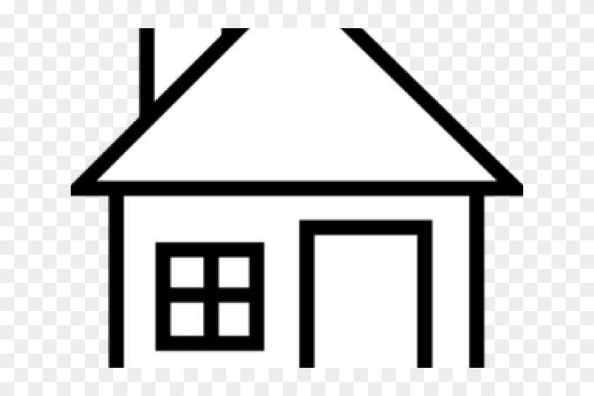 Simple House Clipart Clip Art Of Clipartwork - Home Clipart 3d Png  Transparent Png (#9558) - PinClipart