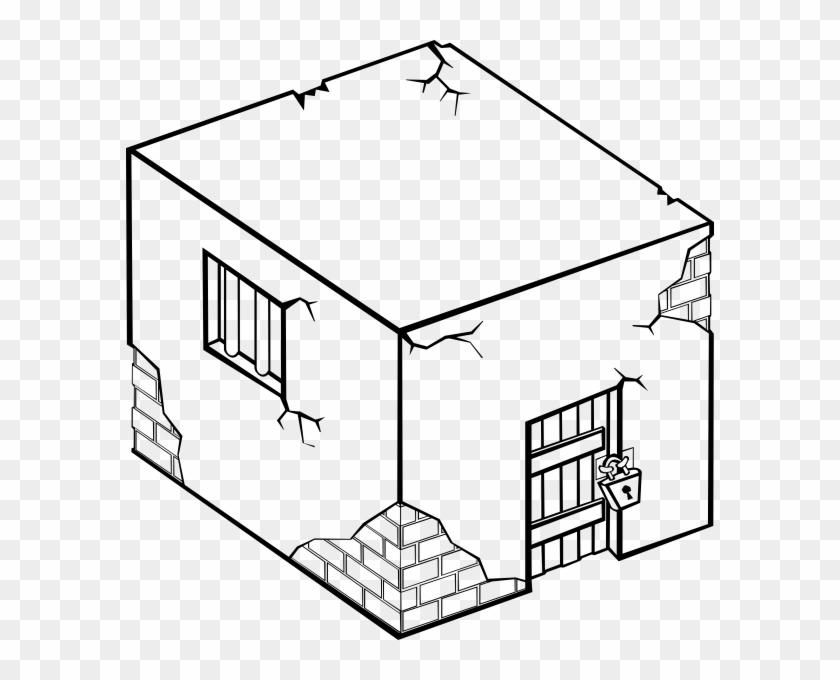 Trial Cliparts Clipartsjail - Cartoon Jail House #267727