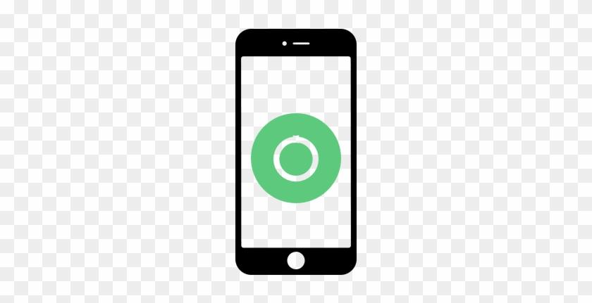 Home Button - Clip Art Cell Phone Camera #267773