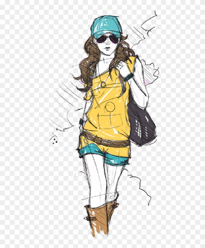 Ftefashion Fashionista Itgirl Pencilart Drawing