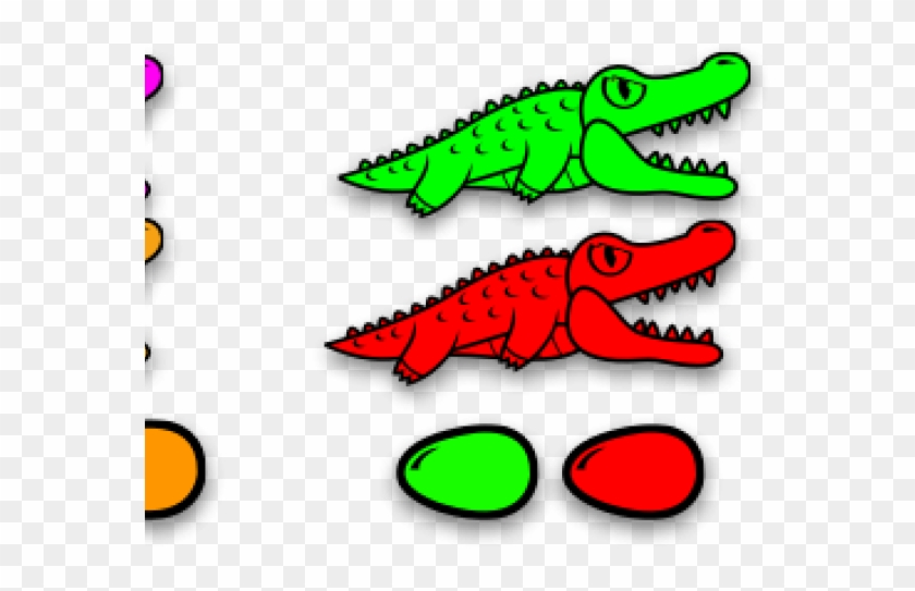 Crocodile Clipart Alligator Egg - Crocodile Cartoon #1762560