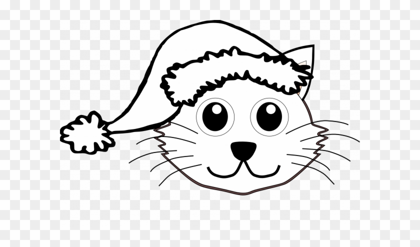 66 Admirable Stocks Of Santa Claus Hats Coloring Pages - Christmas Cat Svg Free #1763550