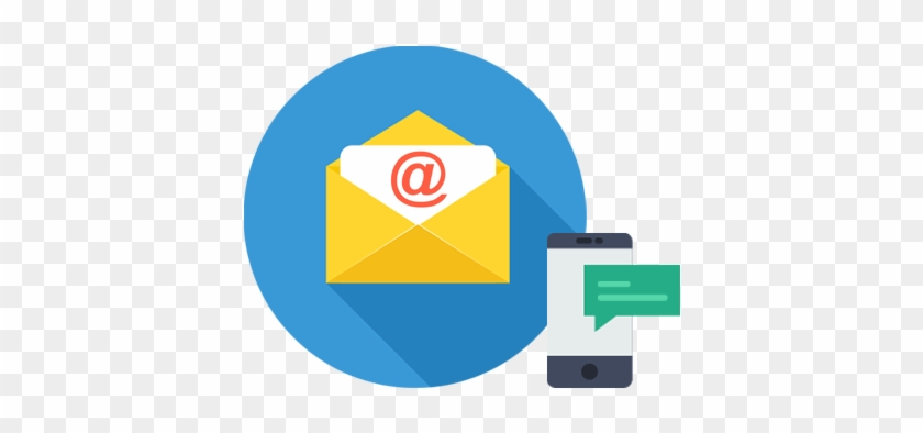 Email To Sms - Email And Sms Icon #268049