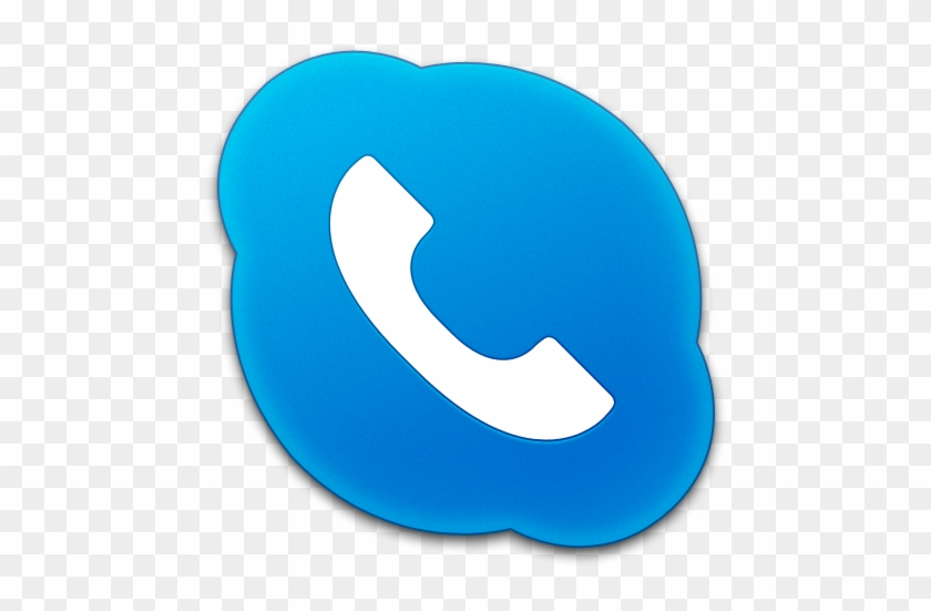 Blue Phone Icon Png - Skype For Business Call Icon - Free