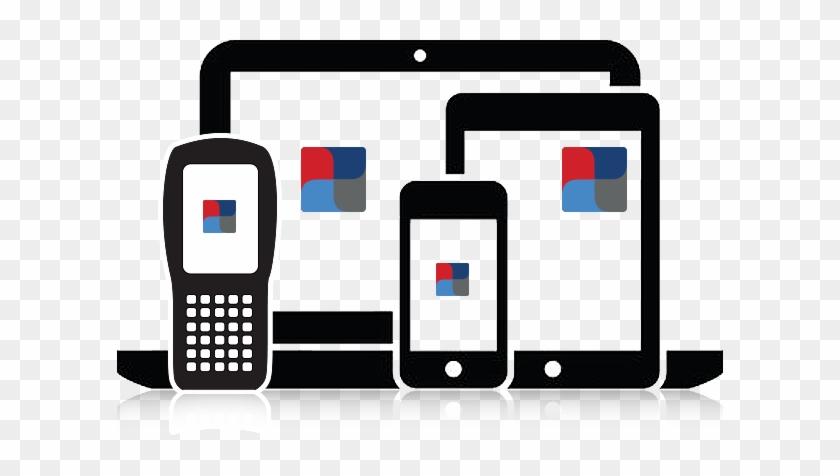Accuspeechmobile's Intelligent Voice Client Patented - Laptop Smartphone Icon #268236