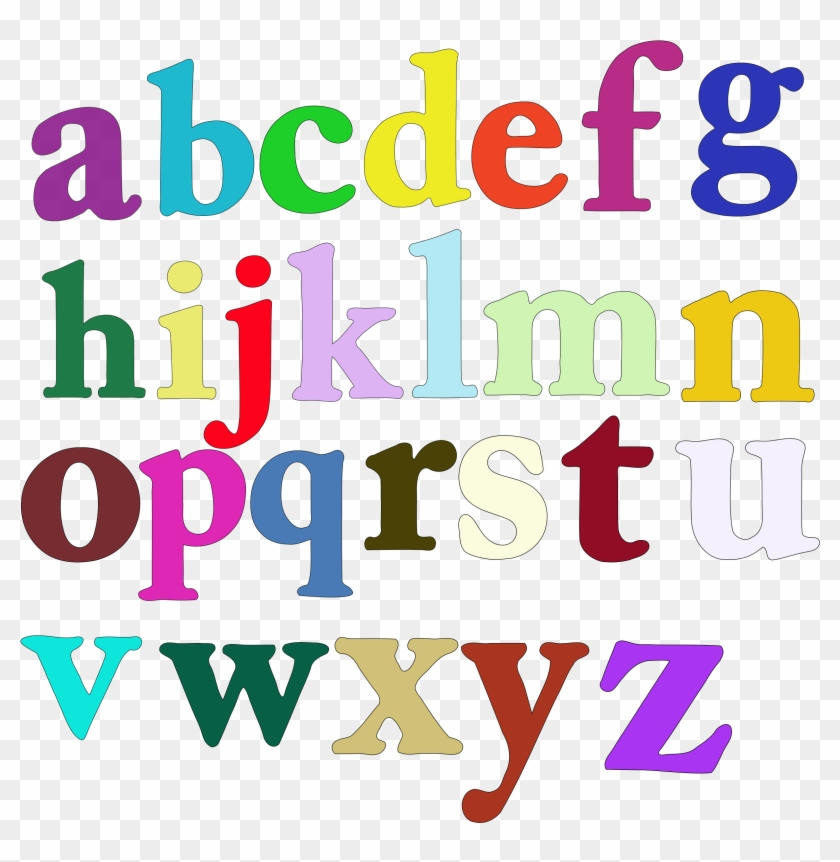 Big Image - Lower Case Alphabet #268277