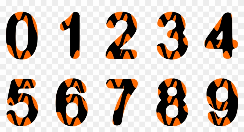 Alphabet Numbers - Alphabet Png Numbers #268302