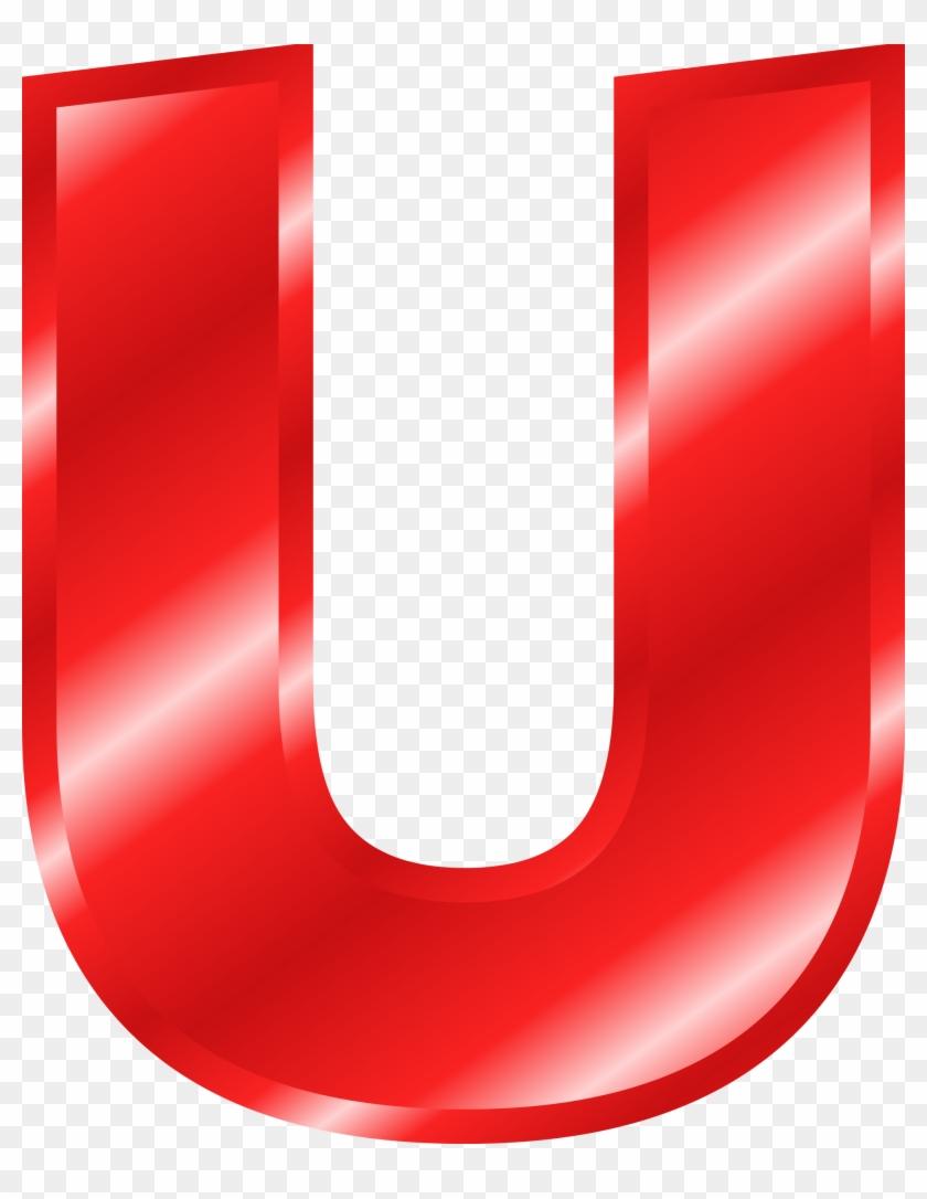 Big Red Letter U #268332