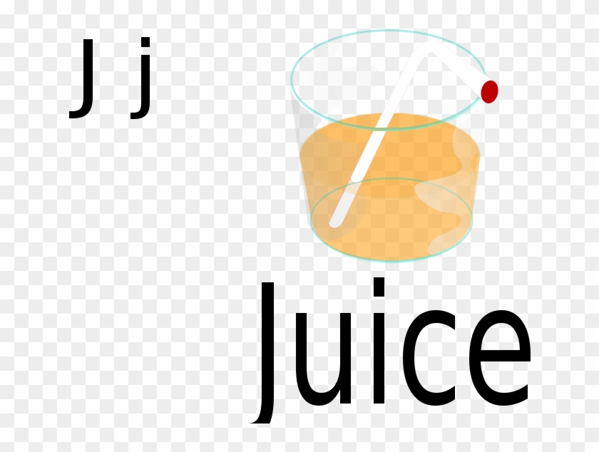 J For Juice - Coloring Page J For Juice - Free Transparent PNG ...