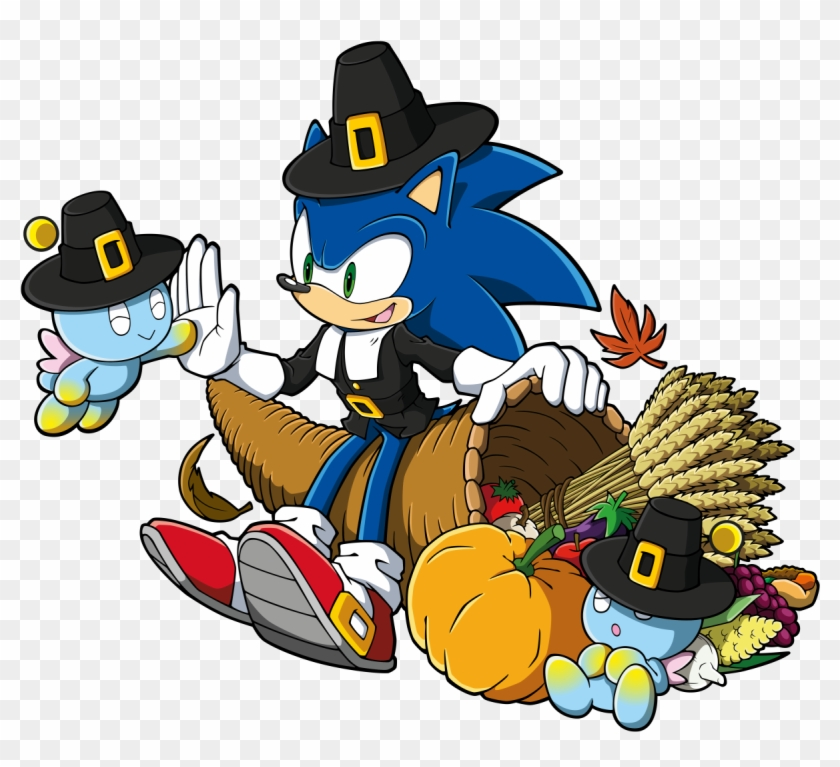 Thanksgiving Sonic - Happy Thanksgiving Video Game #268536