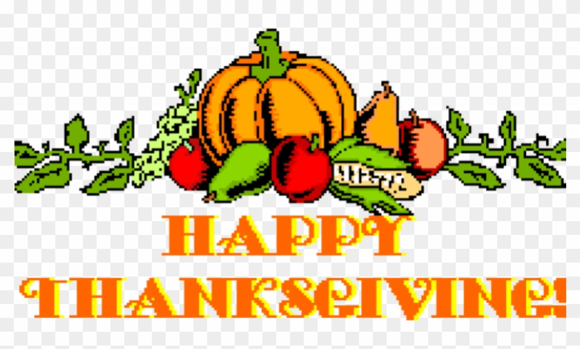 Happy Thanksgiving Pictures Free Clipart Of Exhibition - Thanksgiving Small Clip Art #268566