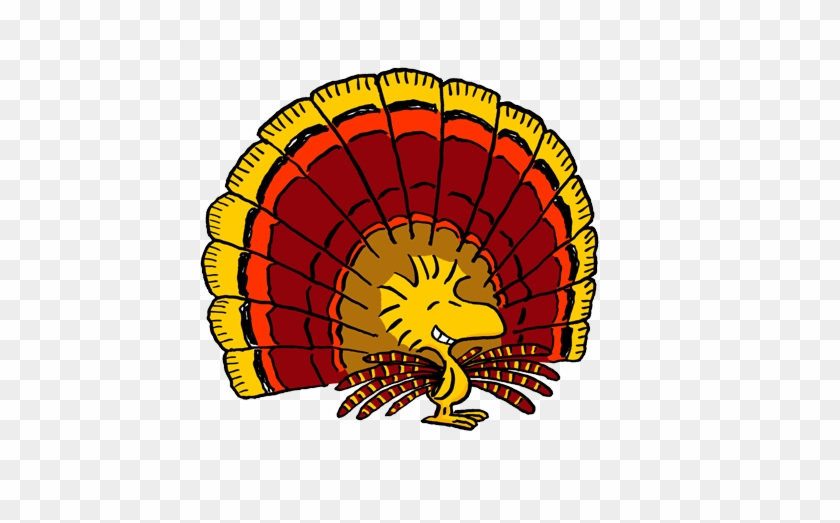 Thanksgiving Free Clipart - Peanuts Woodstock Thanksgiving #268573