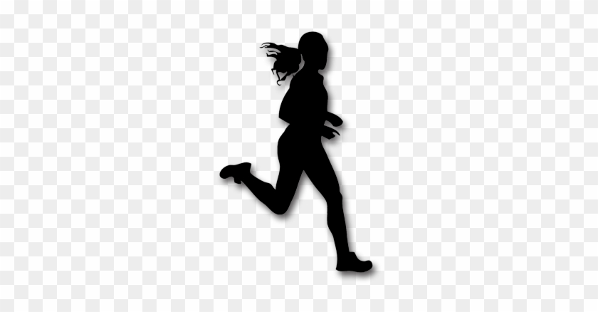 Girl Running Shadow Png #269059