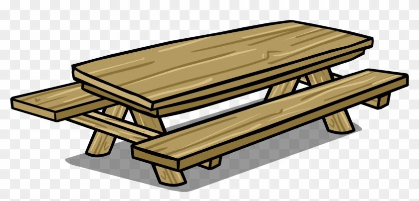 Full Resolution - Picnic Table Clip Art #269067