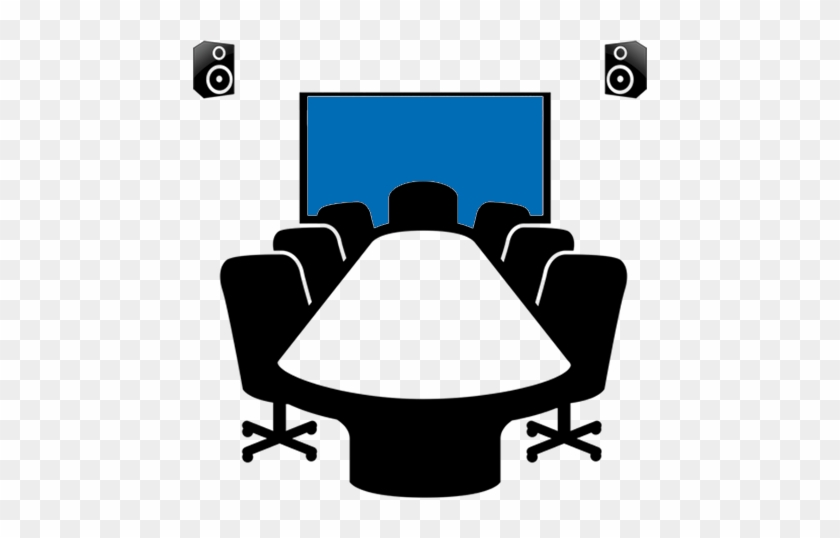 Board Room & Projection System - Meeting Room Booking Icon #269172