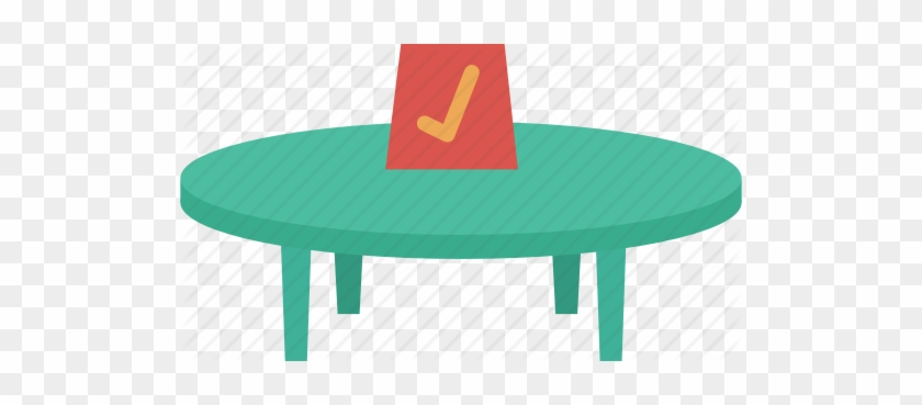 Book, Booking, Check, Round, Table, Venue Icon - Book A Table Icon #269267