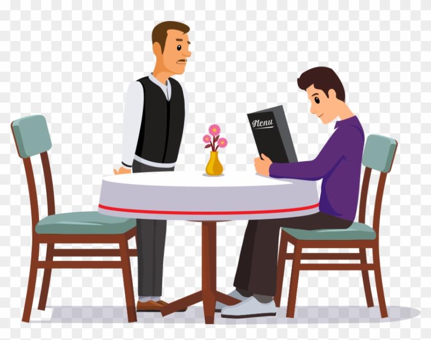 Waiter Taking Order At Restaurant #269315