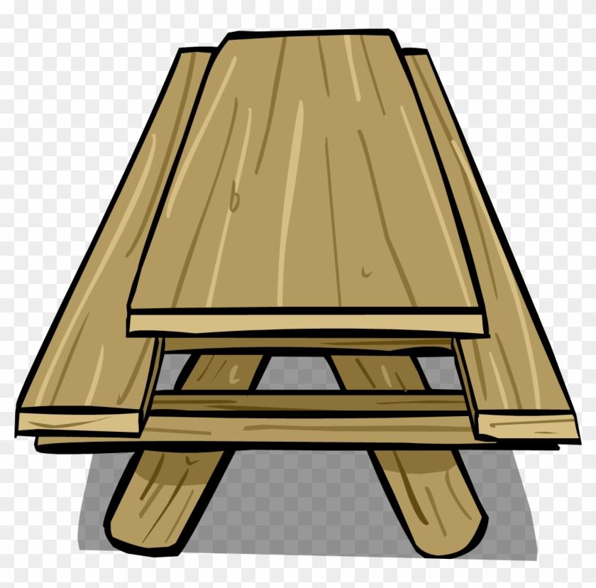 Picnic Table Sprite 005 - Picnic Table Clip Art #269331