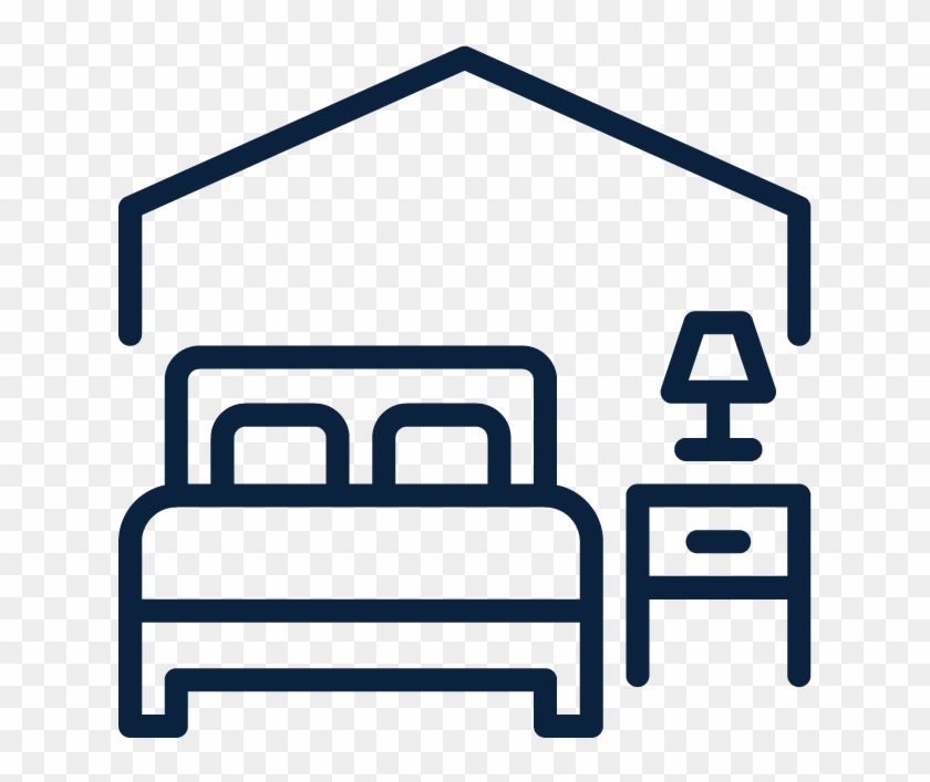 Dorms - Hotel Room Icon Png #269369