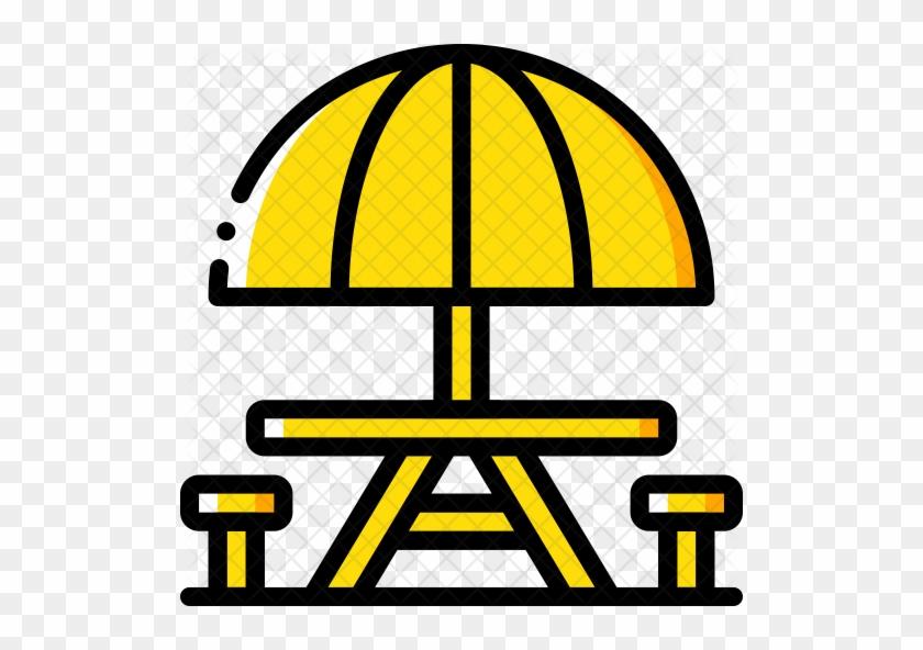 Picnic Table Icon - Picnic #269422