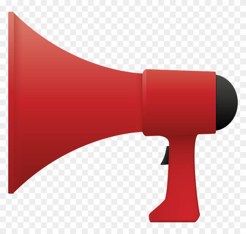 Speakers Clipart Loud - Shouting Speaker #269539