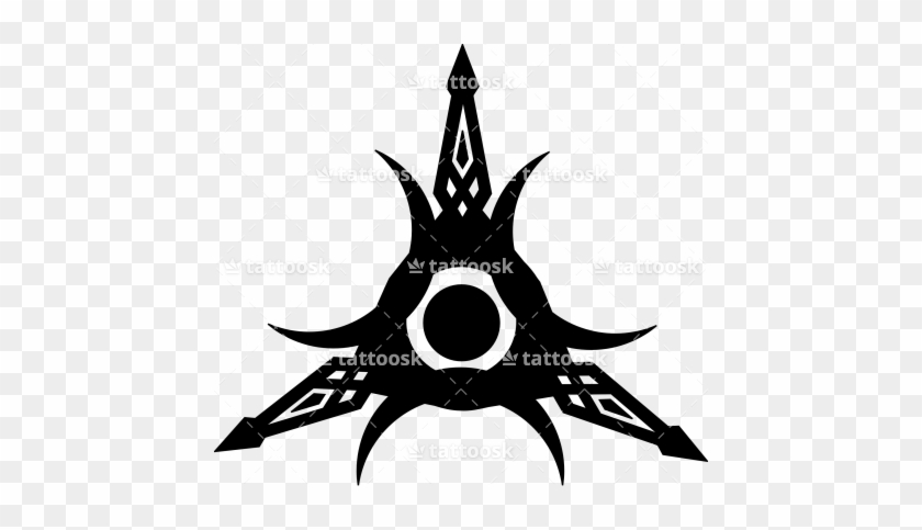 Tribal Crescent Moon Sun Star Tattoo Sun Moon Star Symbol Free