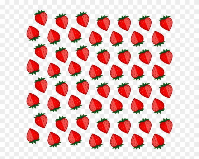 Fresh Strawberry Fruit Background, Fresh Strawberry - Strawberry #270071