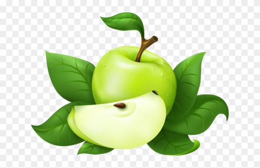 Green Apple Clip Art - Green Apple Png #270099