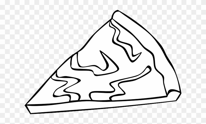 Pizza, Slice, Menu, Cheese, Lunch, Fast, Dinner - Pizza Slice Clip Art #270346