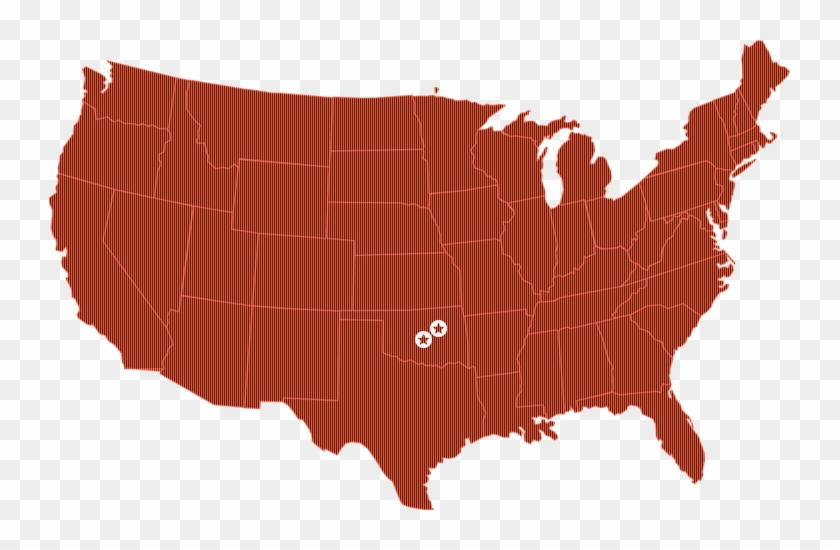 Oklahoma - United States Map Vector - Free Transparent PNG Clipart ...