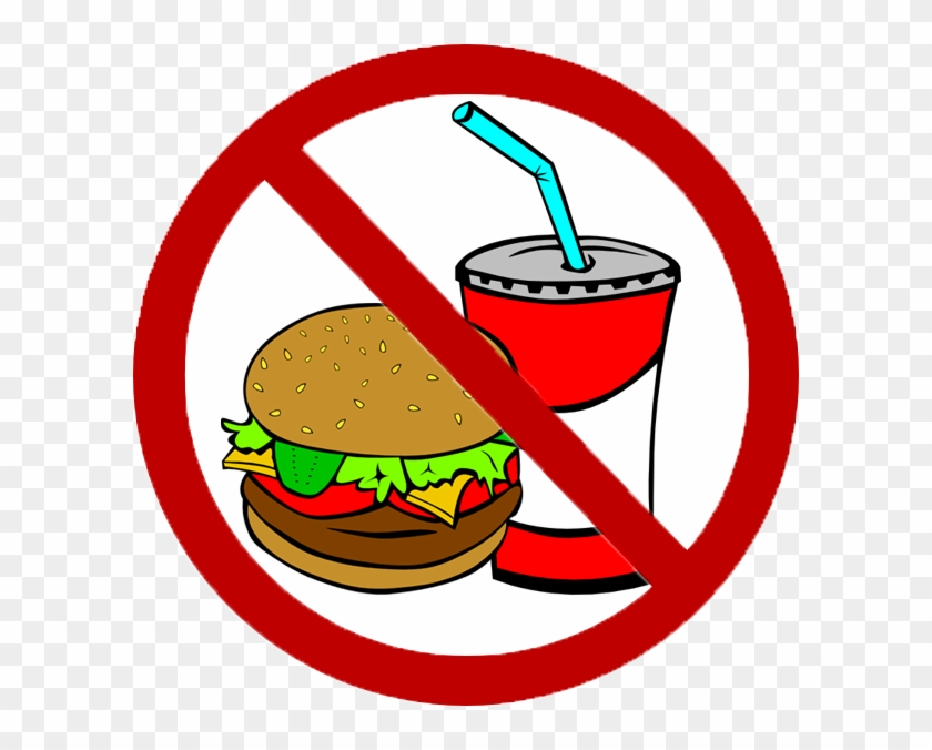 No Junk Food Clipart - No Fast Food Clipart #270599