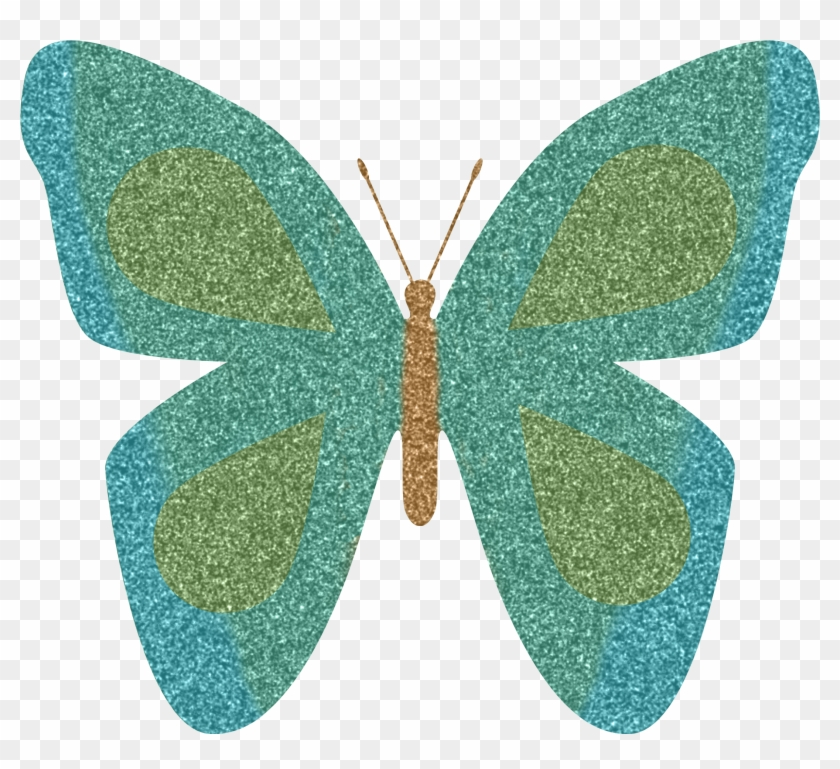 Clip Art Animated Butterflies Butterfly Images Free - Sparkly Glitter Butterfly Png #44705