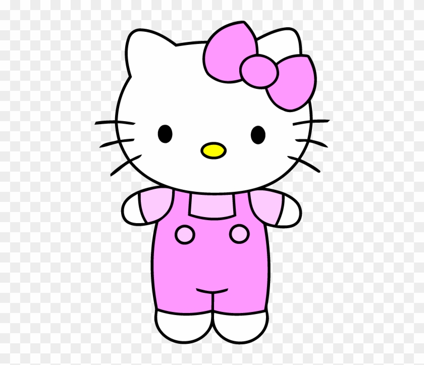 Hello Kitty Clip Art Easy Drawing Of Cartoon Free Transparent Png Clipart Images Download