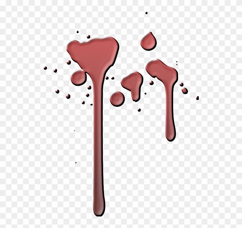 Free Blood - Blood Drops Transparent Background #45031
