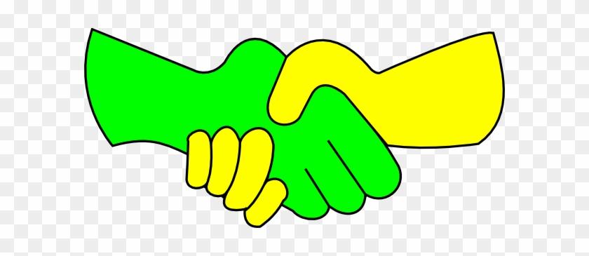 Hand Shake Clip Art - Kids Handshake Clipart #45205
