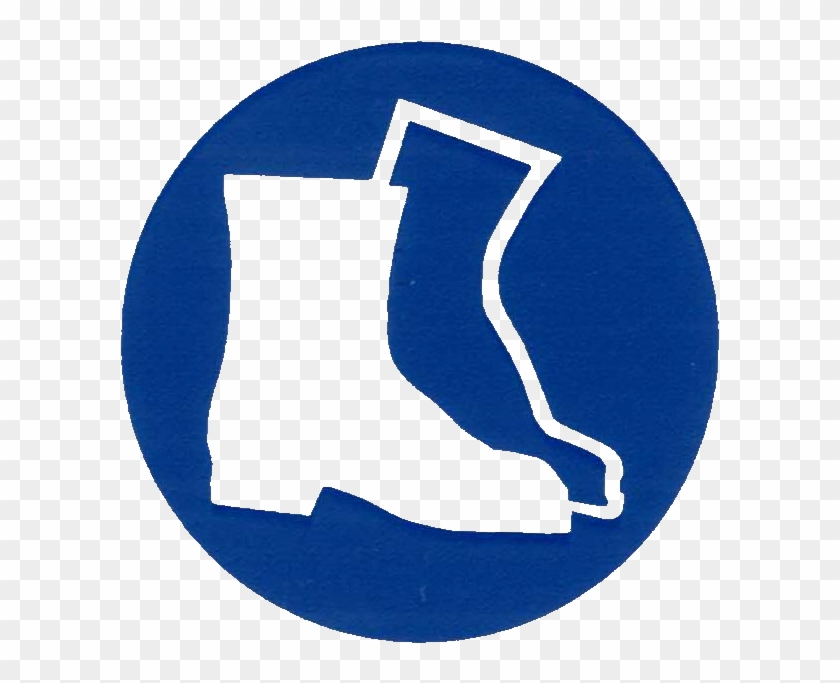Uk Unusual Ppe Symbols Free Download Clip Art On Clipart - Wear Foot Protection Sign #45373
