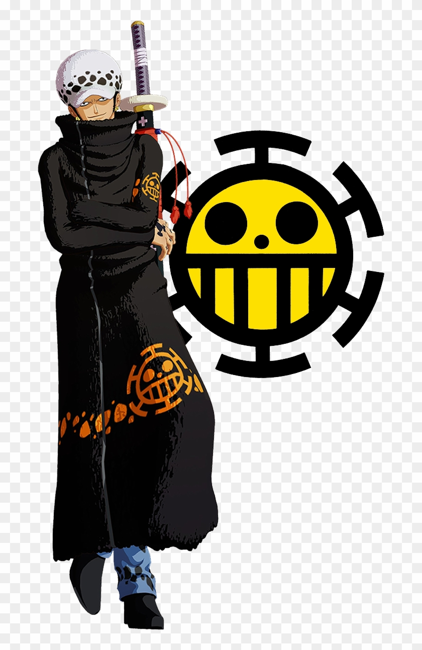 Trafalgar Law Surgeon Of Death Anime One Piece Cosplay Costumes Trafalgar Law Clothing Free Transparent Png Clipart Images Download