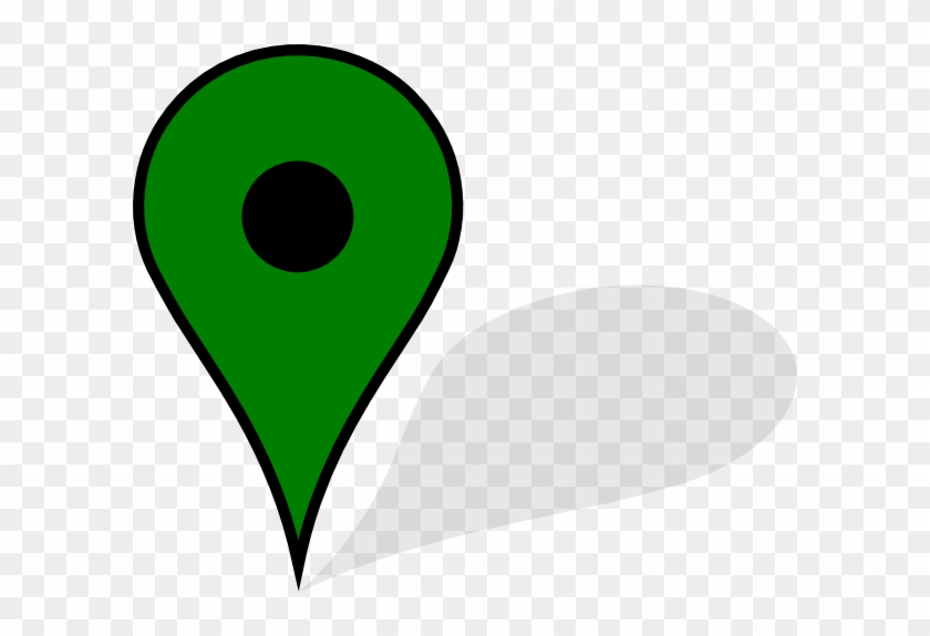 This Free Clip Arts Design Of Google Maps Pin Green - Google Map Pin Green #45546