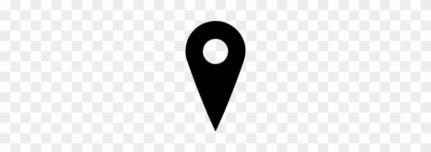 Location - Icon - Map - Google Map Icon Black #45555