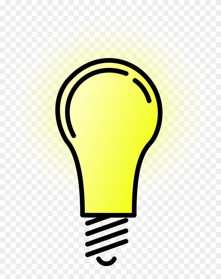 Light Bulb Lightbulb Clipart Free Clipart Images Clipartix - Light Bulb Clip Art #45564