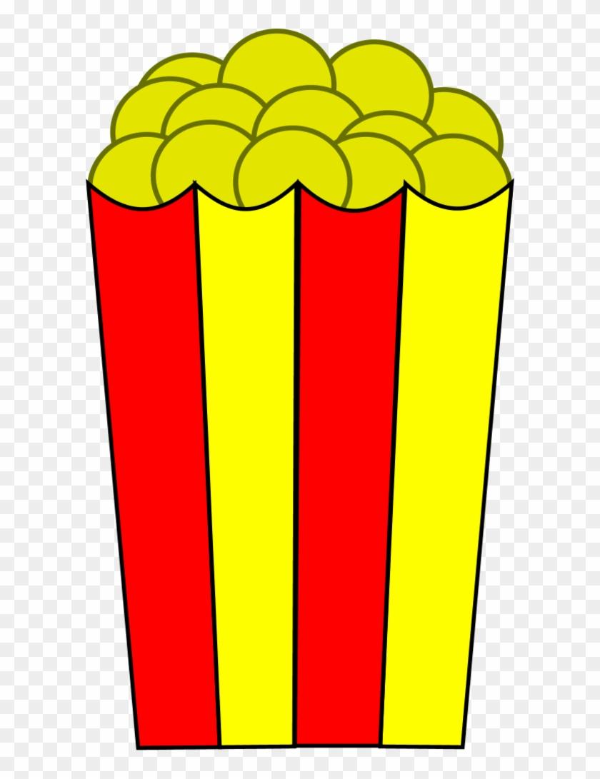 Popcorn Png Images - Popcorn Box Clip Art #45617